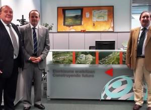 El secretario de la producción visitó el País Vasco