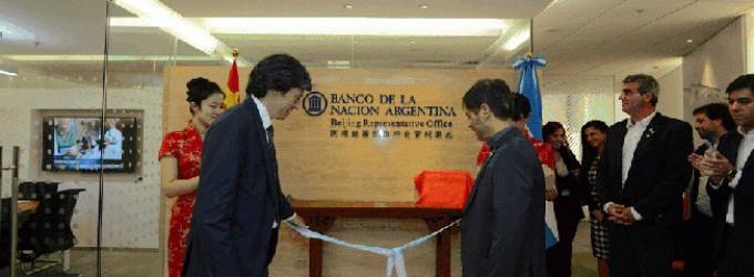 El Banco Nación inauguró su primera sucursal en China